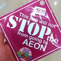 Photo taken at AEON Mahkota Cheras Shopping Centre by Edmund Y. on 1/4/2013