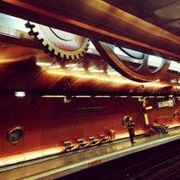 Photo taken at Métro Arts et Métiers [3,11] by Sarah L. on 12/12/2012