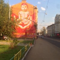 Photo taken at Бауманская улица by Dmitry P. on 9/14/2015