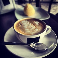Photo taken at Lucca Café by Thiago S. on 11/1/2012