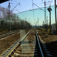 """Photo taken at Переезд """"Новодачная"""" by 🅿at⭐ on 4/23/2013"""