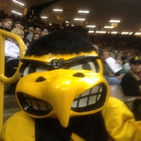 Photo taken at Carver-Hawkeye Arena by George M. on 12/1/2012