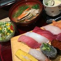 Photo taken at 沼津魚がし鮨 パルシェ6F店 by Tammy on 11/28/2015