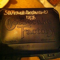 Photo taken at Cheesecake Factory by Eric M. on 12/28/2012