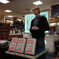 Photo taken at Blackwell's by Janet C. on 12/8/2012