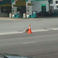 Photo taken at Petronas by Q h. on 1/15/2013