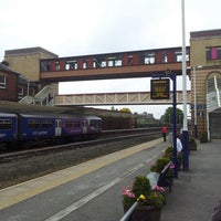 Photo taken at Harrogate Railway Station (HGT) by Stephen H. on 10/1/2012