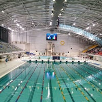 Photo taken at Sydney Olympic Park Aquatic Centre by Skevos S. on 12/22/2015
