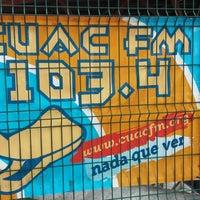 Photo taken at Cuac FM - Estudio José Couso by Iago V. on 5/6/2014