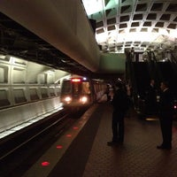 Photo taken at Farragut North Metro Station by Derek B. on 6/5/2012