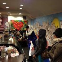 Photo taken at Macaron Café by Amanda C. on 12/26/2012