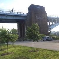 Photo taken at 40th St. Bridge by Adam S. on 8/30/2014