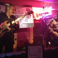Photo taken at Red Lion by Liz L. on 2/18/2013