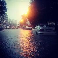 Photo taken at Pablo Ocampo Sr. Avenue by leiko l. on 8/19/2013