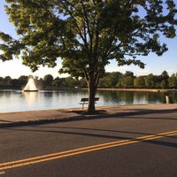 Photo taken at Byrd Park Boat (Fountain) Lake by Ram K. on 9/19/2015