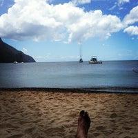 Photo taken at Sugar Beach, A Viceroy Resort by Jeremy H. on 3/26/2013