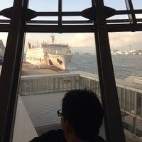 Photo taken at 大阪港国際フェリーターミナル by Mai I. on 12/25/2015