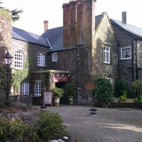 Photo taken at The Priory Restaurant & Hotel Caerleon by Nick T. on 1/27/2013
