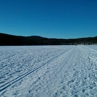 Photo taken at Sognsvann by Víctor C. on 3/31/2013