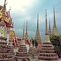 Photo taken at Wat Pho by David on 9/16/2012