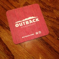 Photo taken at Outback Steakhouse by Wynn G. on 12/16/2012