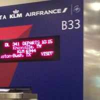 Photo taken at Gate B33 by Kevin C. on 2/17/2013