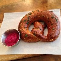 Photo taken at Sigmund Pretzel Shop by bridget c. on 7/24/2013