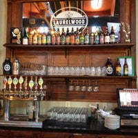 Photo taken at Laurelwood Public House & Brewery by Kelly A. on 8/5/2013