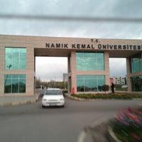 Photo taken at Namık Kemal Üniversitesi by İsmail G. on 4/16/2013
