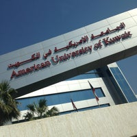 Photo taken at American University of Kuwait by Fatma B. on 2/21/2013