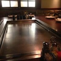 Photo taken at Genji Japanese Steakhouse - Dublin by Chris L. on 12/21/2012