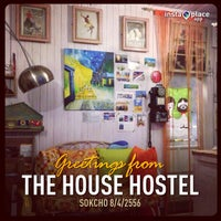 Photo taken at The House Hostel by Thomas P. on 4/8/2013