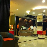 Photo taken at Ayara Grand Palace Hotel by Thomas P. on 5/9/2013