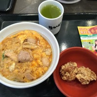 Photo taken at なか卯 なんさん通店 by area551 バ. on 7/2/2016