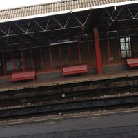 Photo taken at Deansgate Railway Station (DGT) by Maliha on 11/30/2012