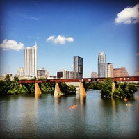 Photo taken at Lady Bird Lake by Greg on 5/12/2013