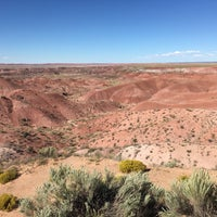 Photo taken at Painted Desert by Jorge C. on 9/16/2016