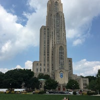 Photo taken at Cathedral of Learning by Anthony B. on 7/23/2016