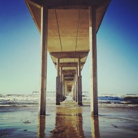 Photo taken at Ocean Beach Pier by Alexander P. on 2/21/2013