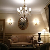 Photo taken at Le Meurice by Capt_mm K. on 5/22/2013