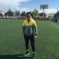 Photo taken at Abdurrahman Temel Futbol Sahası by Caner A. on 5/8/2016