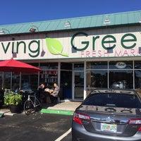 Photo taken at Living Green Fresh Market by Wayman L. on 1/24/2016