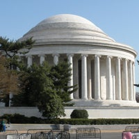 Photo taken at Thomas Jefferson Memorial by Jed H. on 4/8/2013