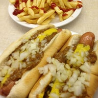 Photo taken at Lafayette Coney Island by Jim on 12/24/2012