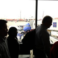 Photo taken at Concourse C by Ryan C. on 4/11/2013