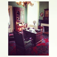 Photo taken at The Boyhood Home Of Woodrow Wilson by B G. on 12/28/2013
