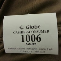 Photo taken at Globe Telecom by Cezar Z. on 11/3/2013