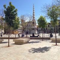 Photo taken at Plaza de la Merced by Alejandro D. on 4/7/2013