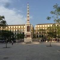 Photo taken at Plaza de la Merced by Alejandro D. on 7/9/2013