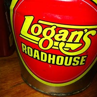 Photo taken at Logan's Roadhouse by Amy N. on 2/24/2012